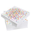 Confetti versiering servetten 20 stuks