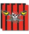 Servetten voor een piraten feestje